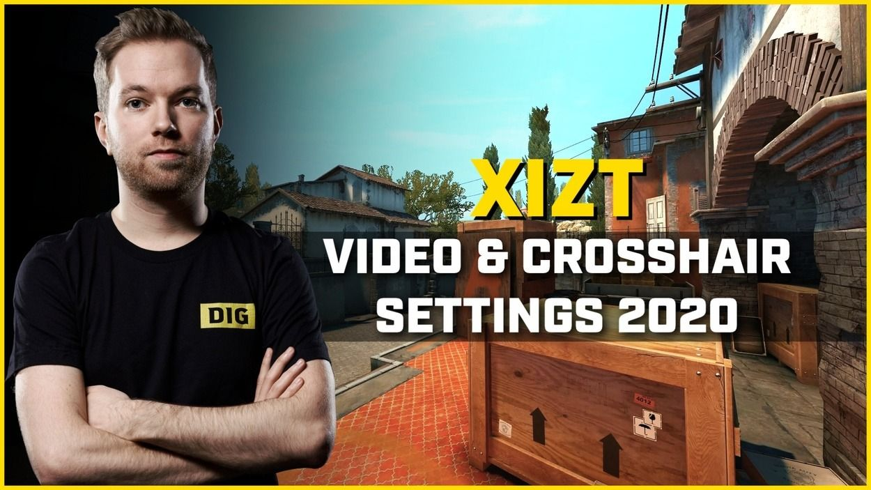Best Crosshair and Video Settings from Xizt, the CS:GO Legend
