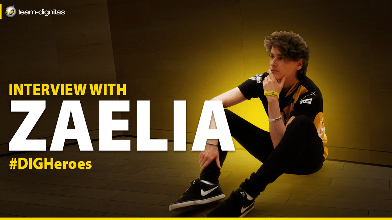 Interview With Zaelia on the competition and the newest Support hero