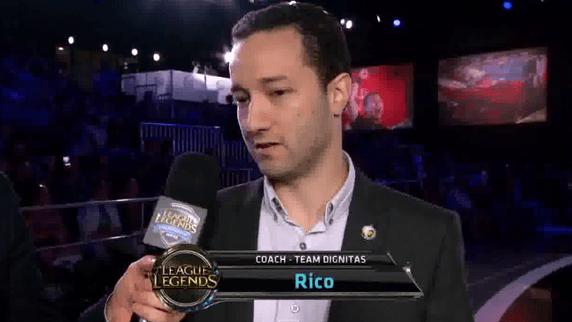 Rico Steps Down As LCS NA Head Coach