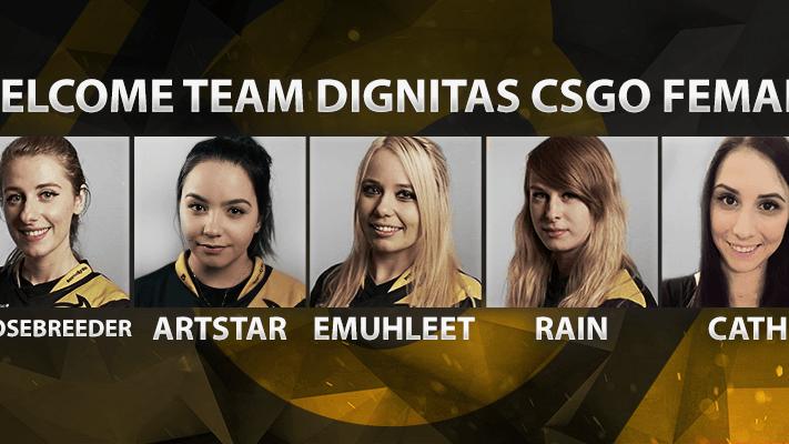 Welcome Team Dignitas CSGO Female