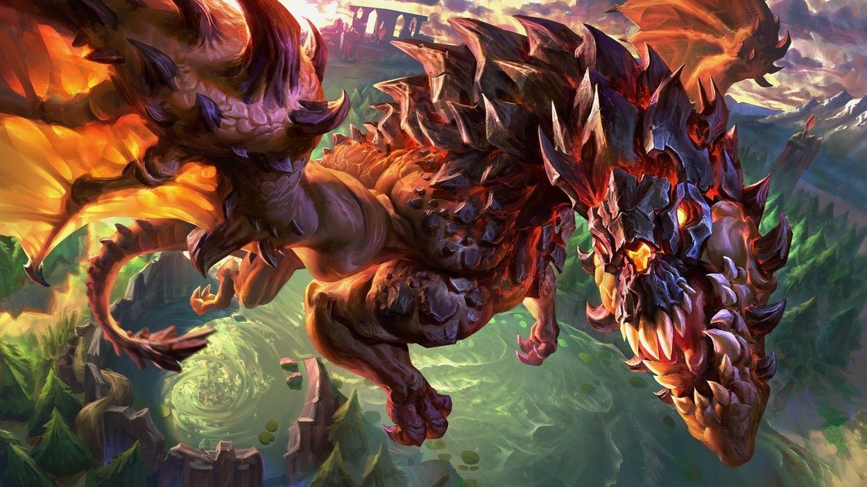 Vision Domination: Warding Dragon and Baron