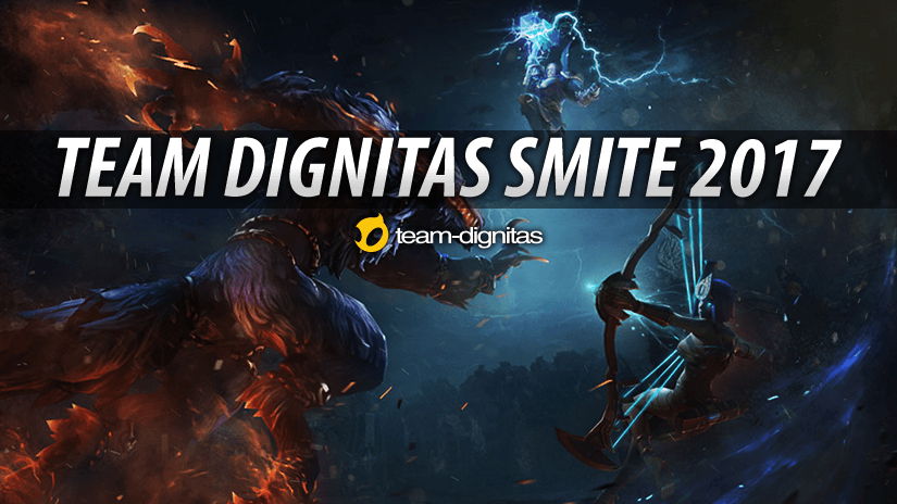 Presenting the 2017 Team Dignitas SMITE roster
