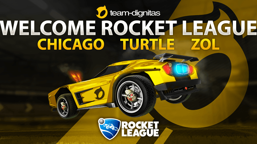 Welcome Team Dignitas Rocket League team