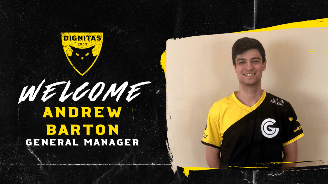 Andrew Barton appointed General Manager of Dignitas
