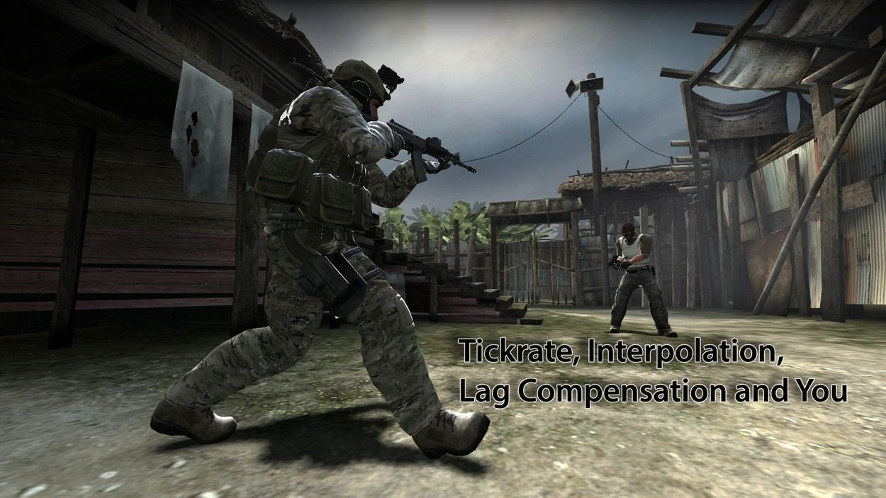 Tickrate, Interpolation, Lag Compensation and You: Probably Not the Reason Why You Just Missed That Shot