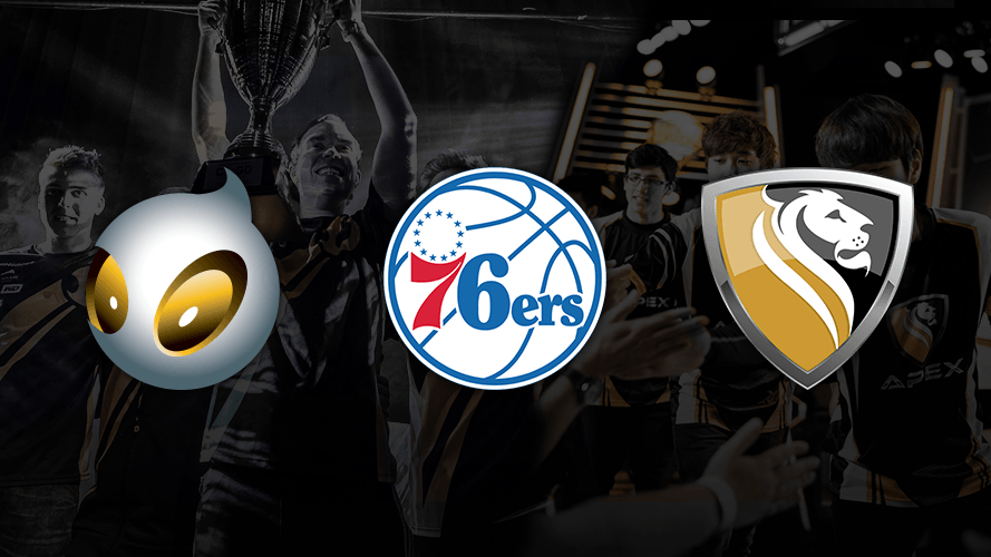 Philadelphia 76ers acquire, merge and manage leading esports teams Dignitas and Apex