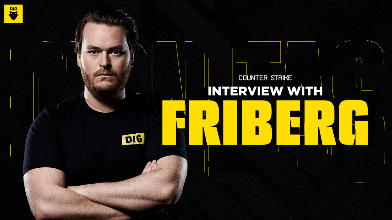 """Interview with DIG CS:GO player, friberg: """"hallzerk means a lot to us"""""""
