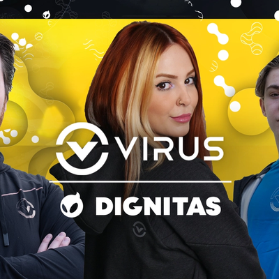 friberg, showliana and HEAP show-off apparel from VIRUS International, Dignitas' Official Game Day Apparel Partner