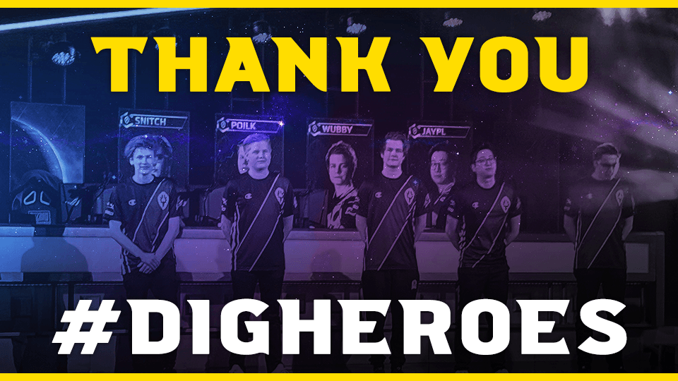 Thank you DIG Heroes