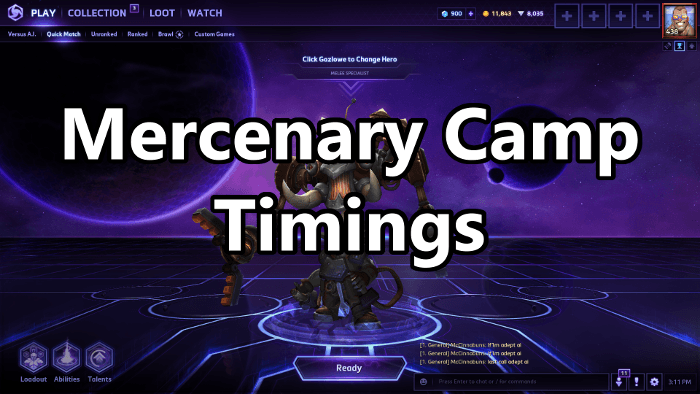 Heroes of the Storm: How to Fully Utilize Mercenary Camps