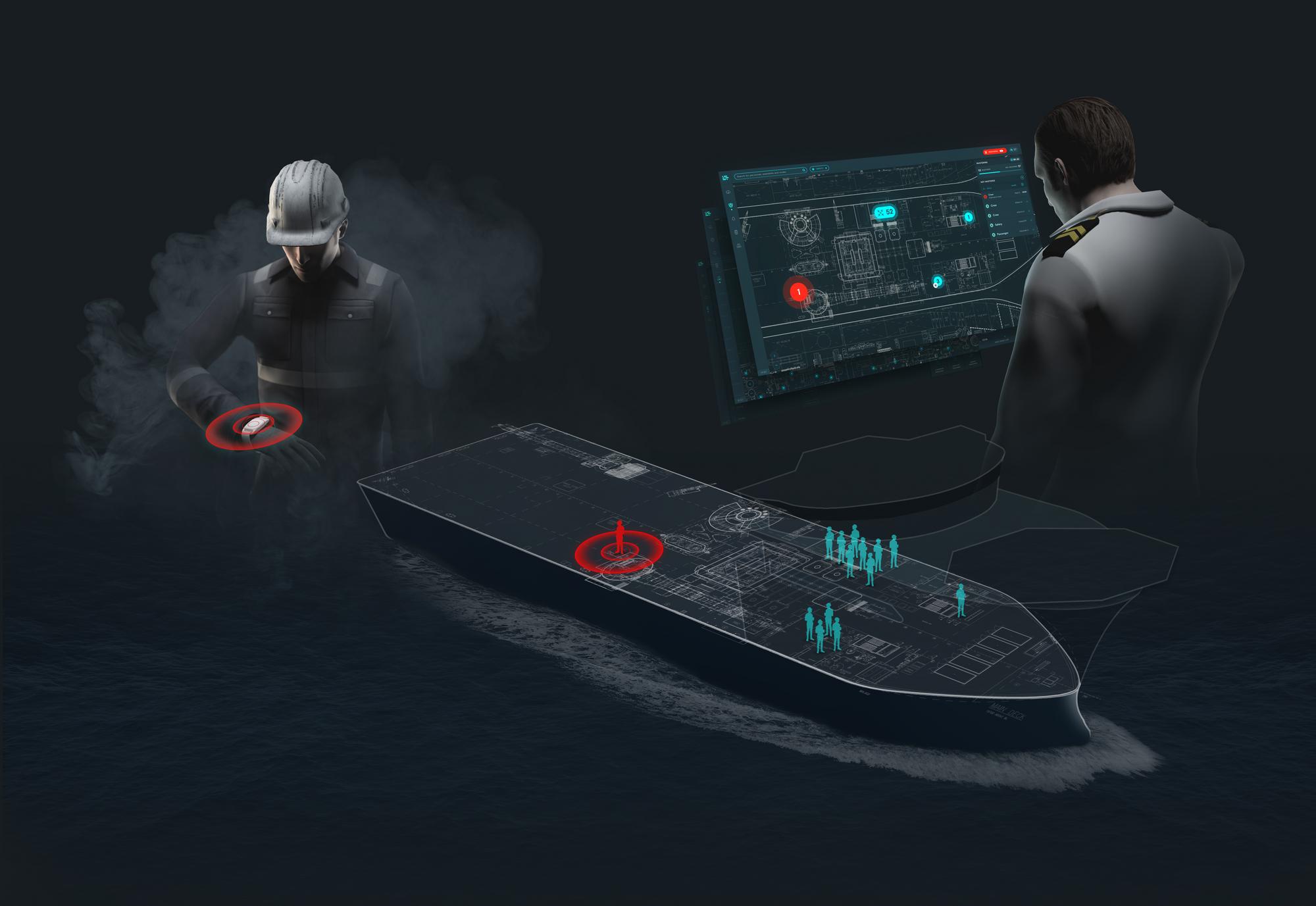 Teknisk illustrasjon av ScanReachs produkter