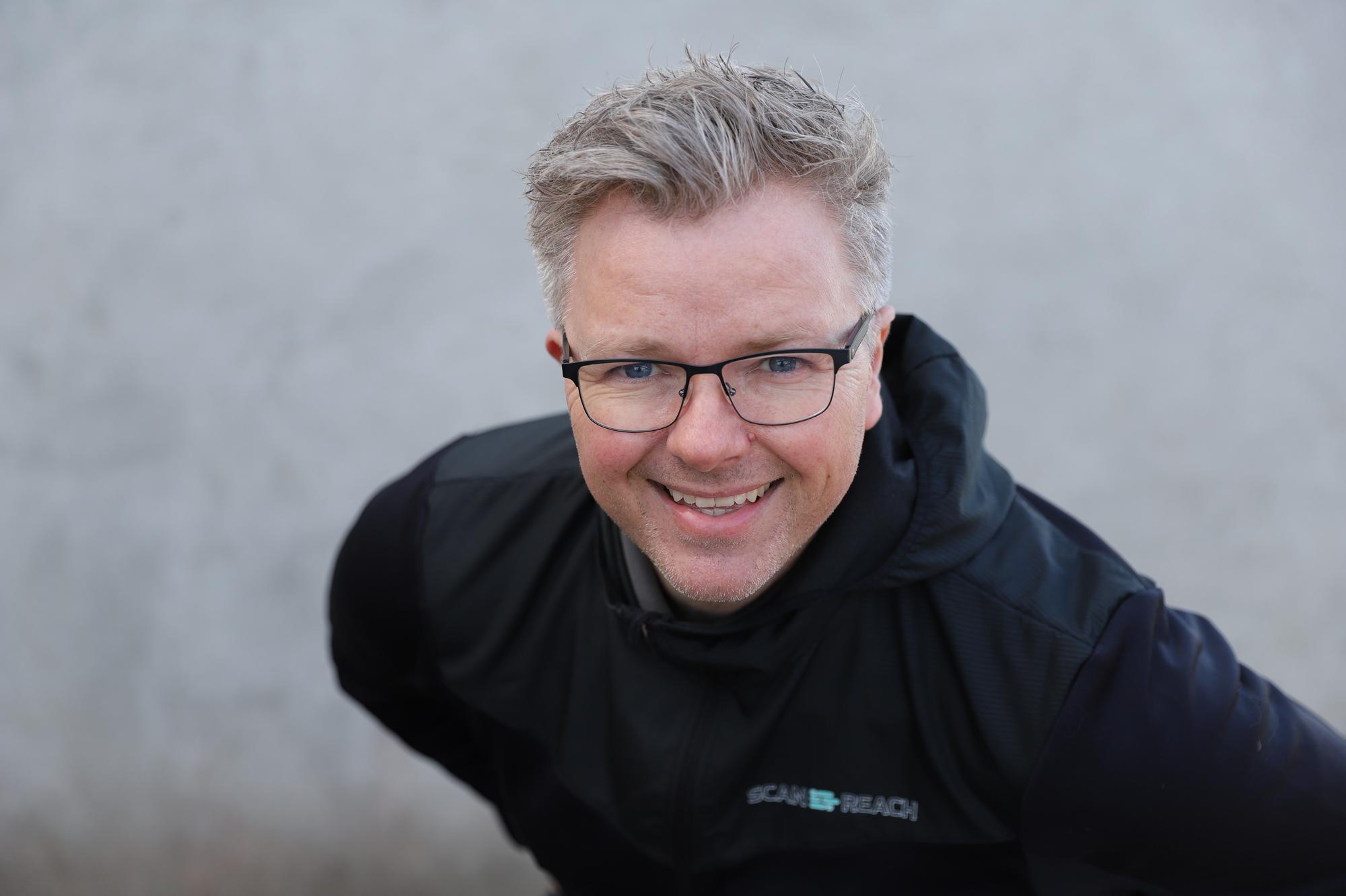 Arild Sæle i oppstartselskapet ScanReach.