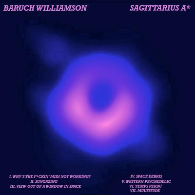 Baruch Williamson - Sagittarius A* front cover