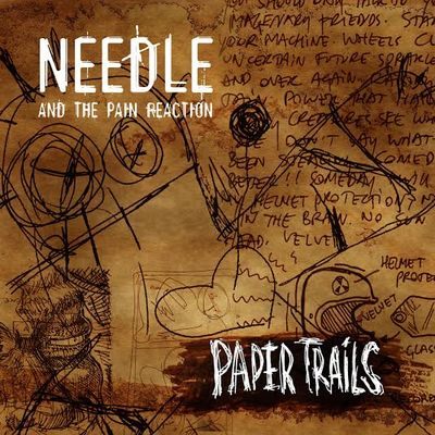 Needle And The Pain Reaction - Paper Trails front cover
