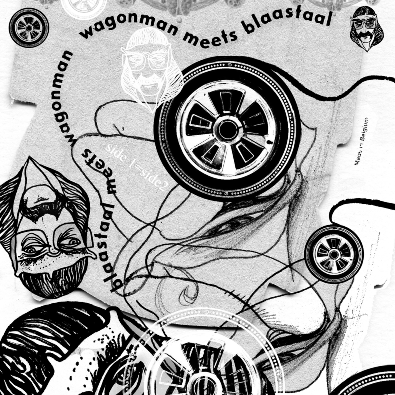 Wagonman - Wagonman Meets Blaastaal front cover