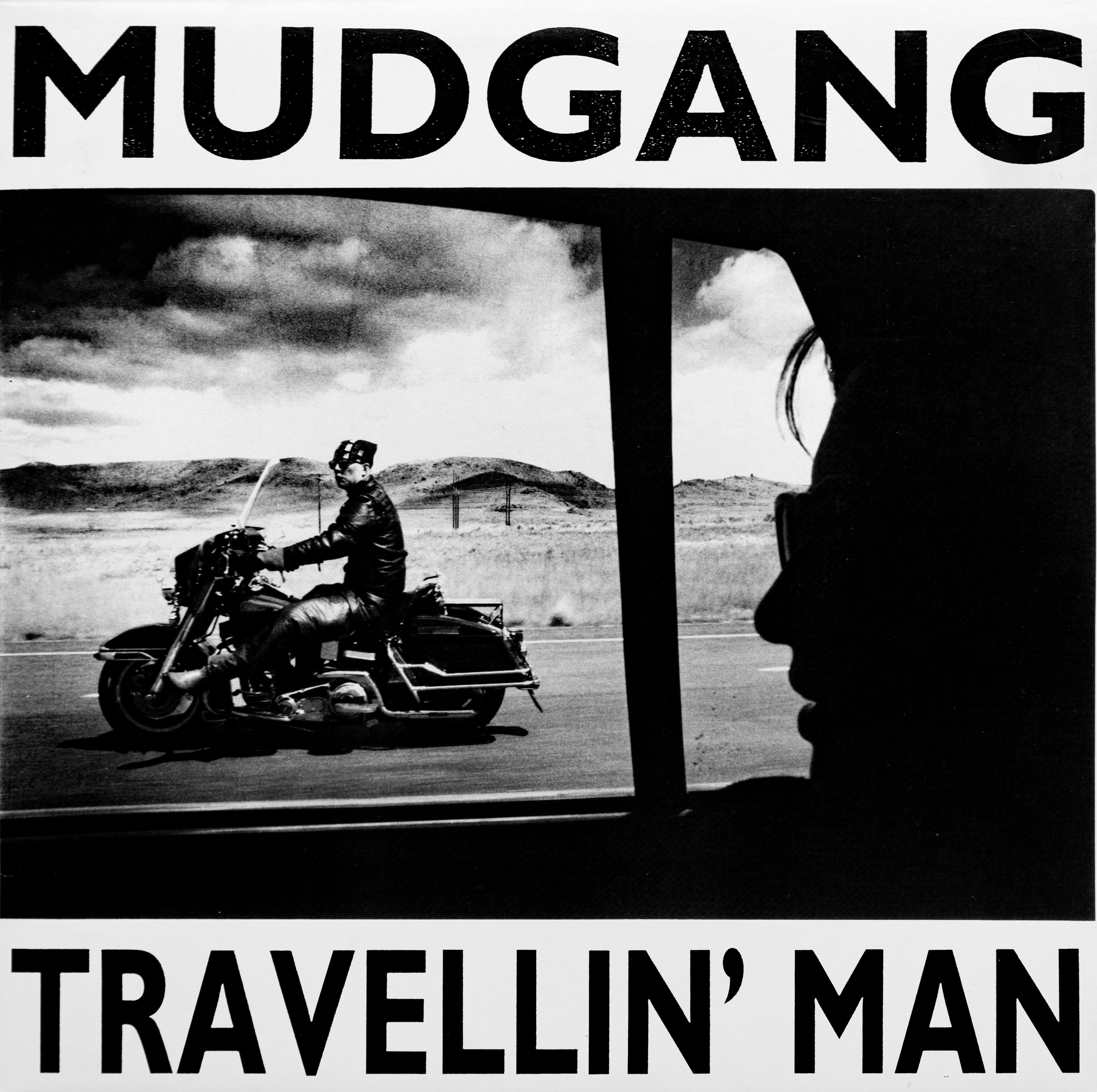 The Mudgang - Travellin' Man front cover