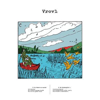 Vrovl - La Chasse Au Marais / De Eendenjacht front cover