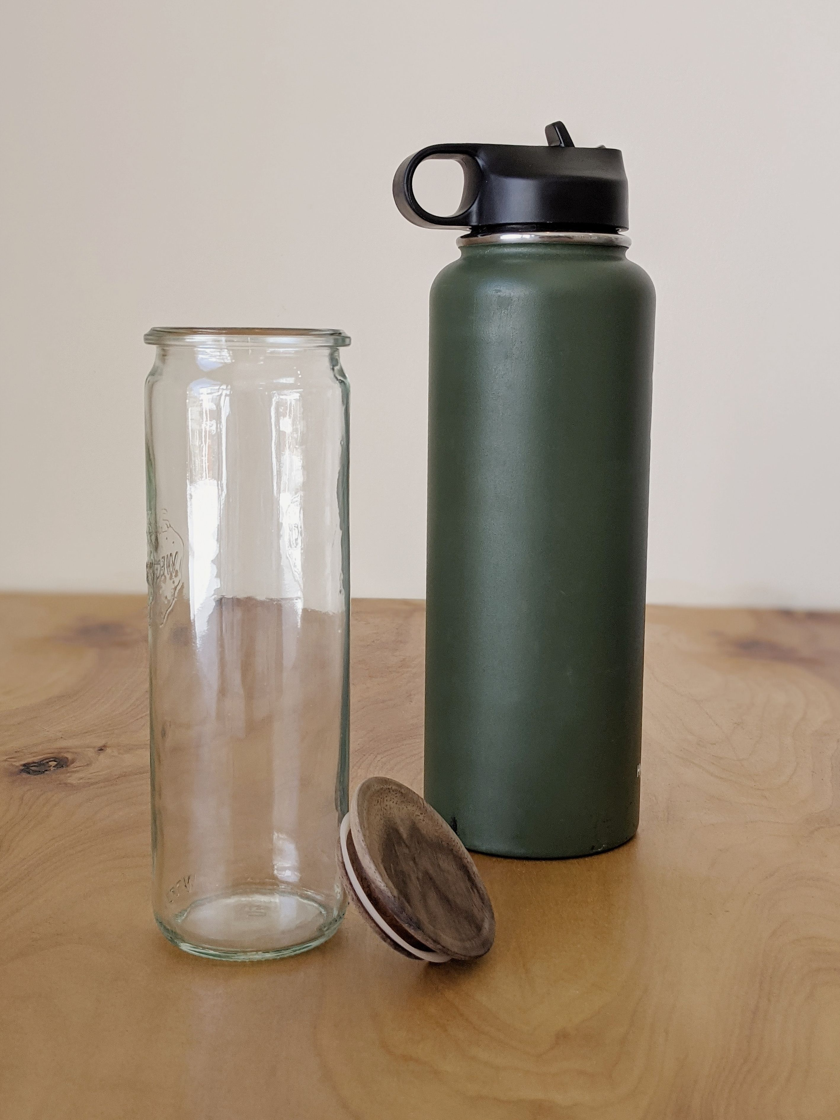 sustainable beauty personal care alternative water bottle