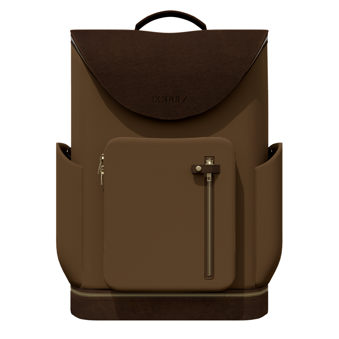 horse riding groom bag in brown leather