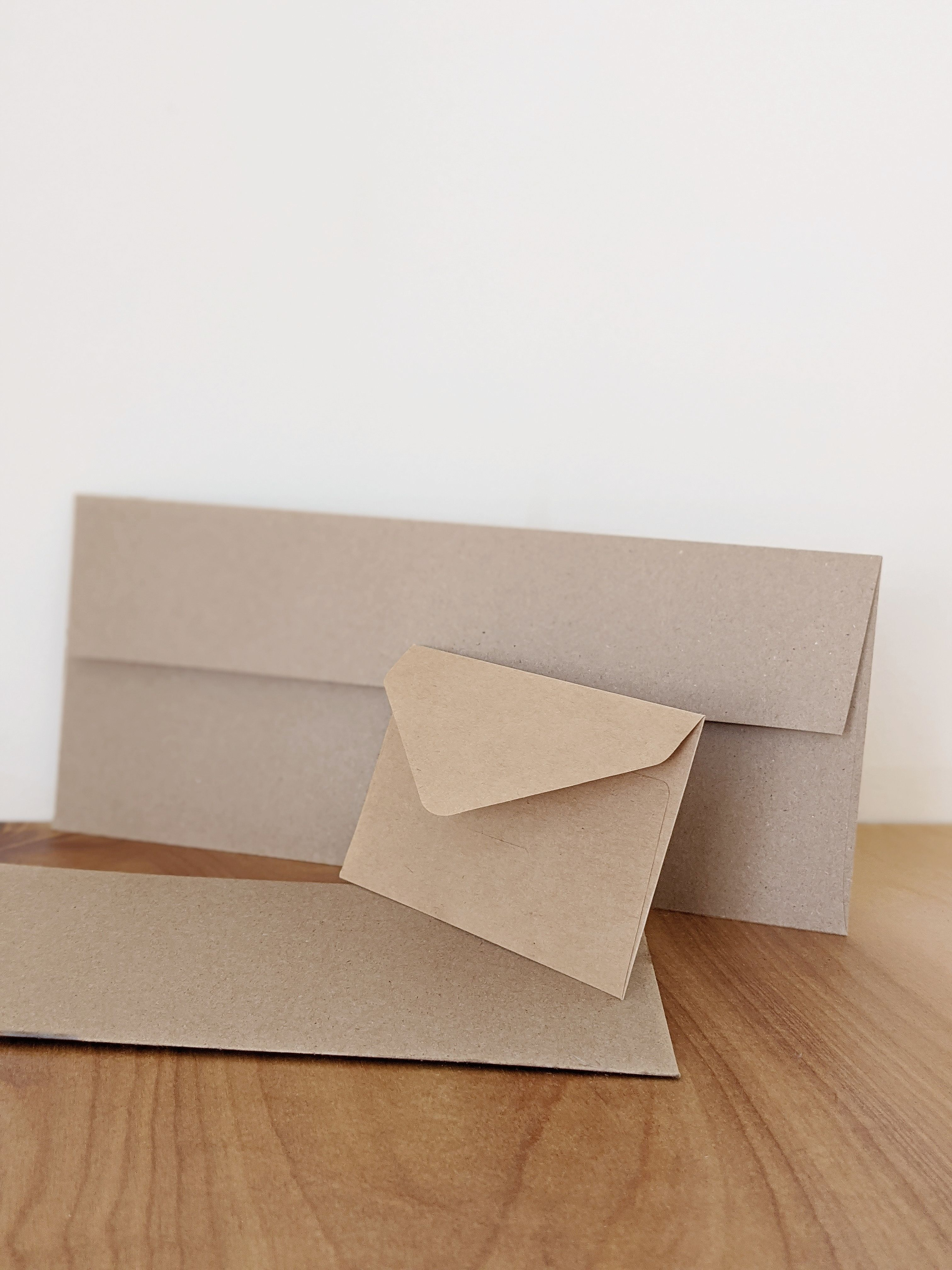 sustainable home alternative recycled paper envelopes