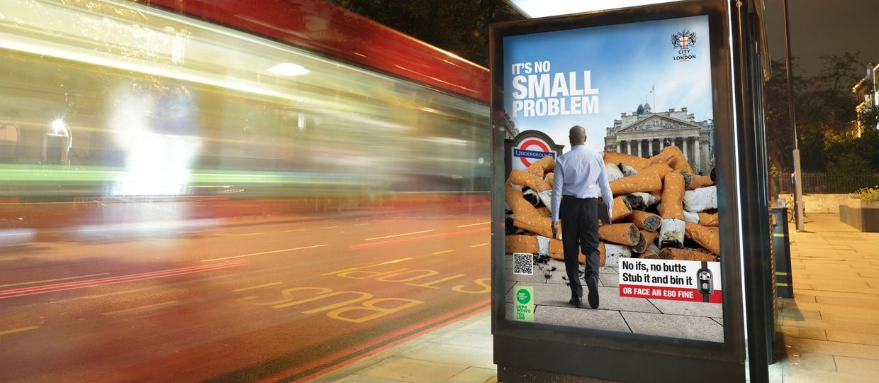 Cover Image for It's no small problem – Londona