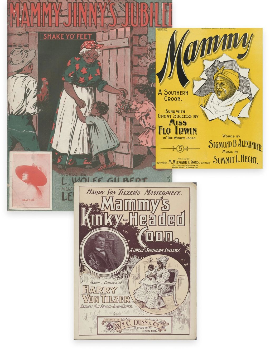 Historical imagery and artwork of Mammys