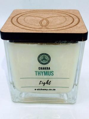 Thymus Chakra Candle