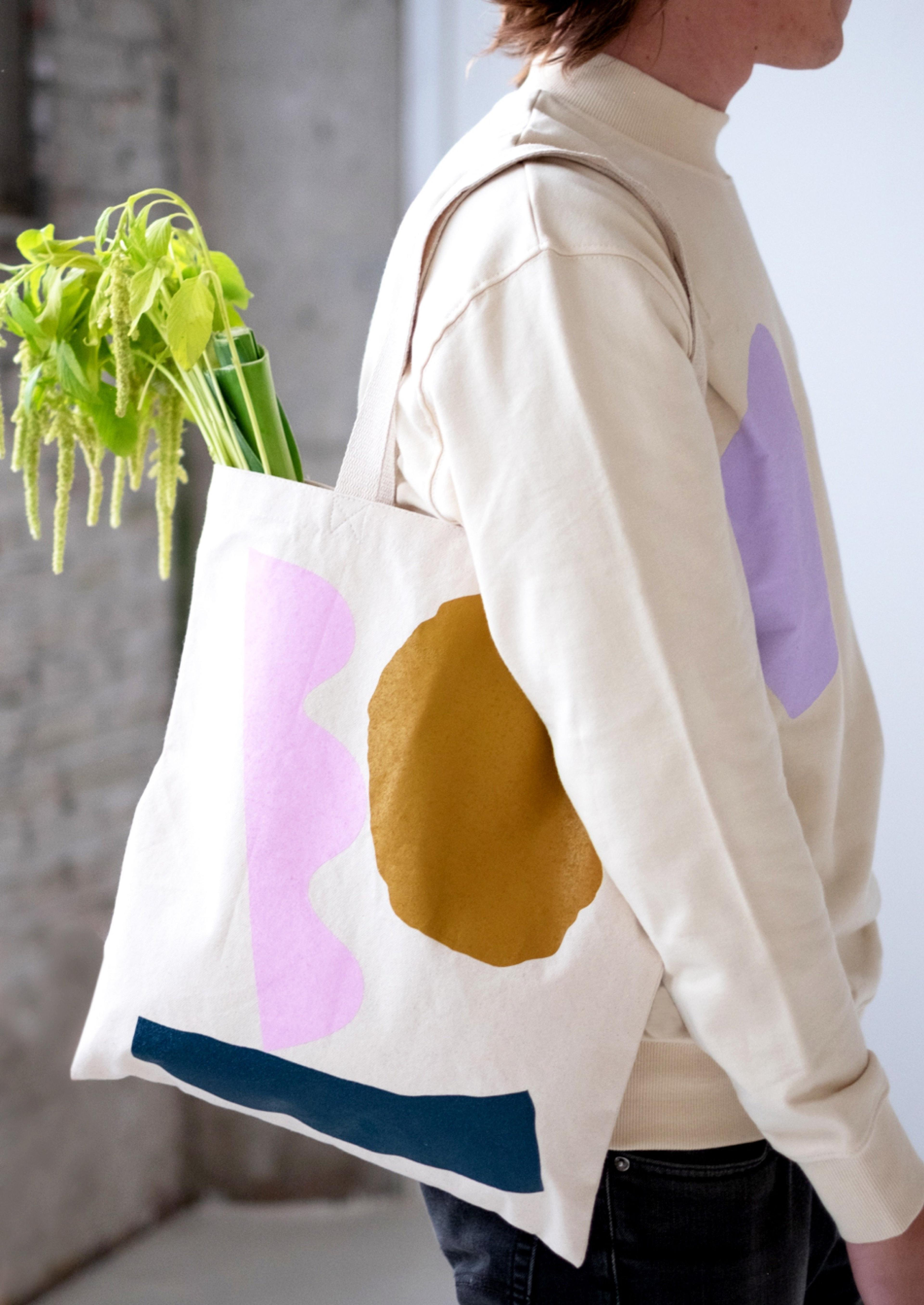 A Tote designed by Alex Proba, made by Kotn Supply