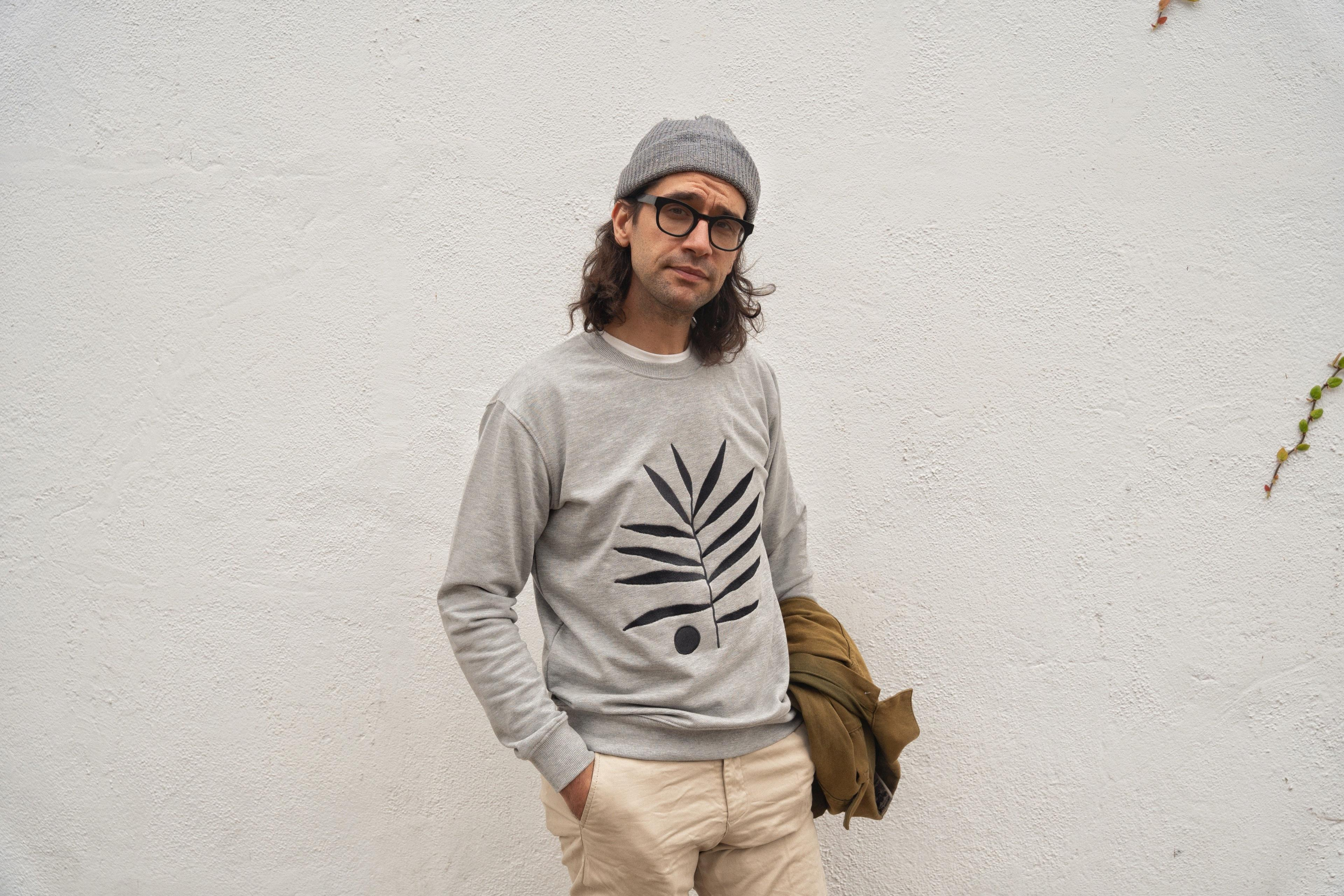 A Sweatshirt designed by Daren Magee, made by Kotn Supply