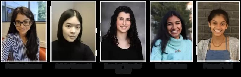 Image of the 5 undergraduates who created QuickShift