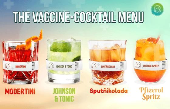 Cecilia.ai the Robotic Bartender Serving Vaccine-Cocktails