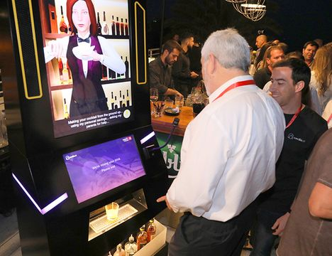 Meet Cecilia - the virtual bartender for physical events
