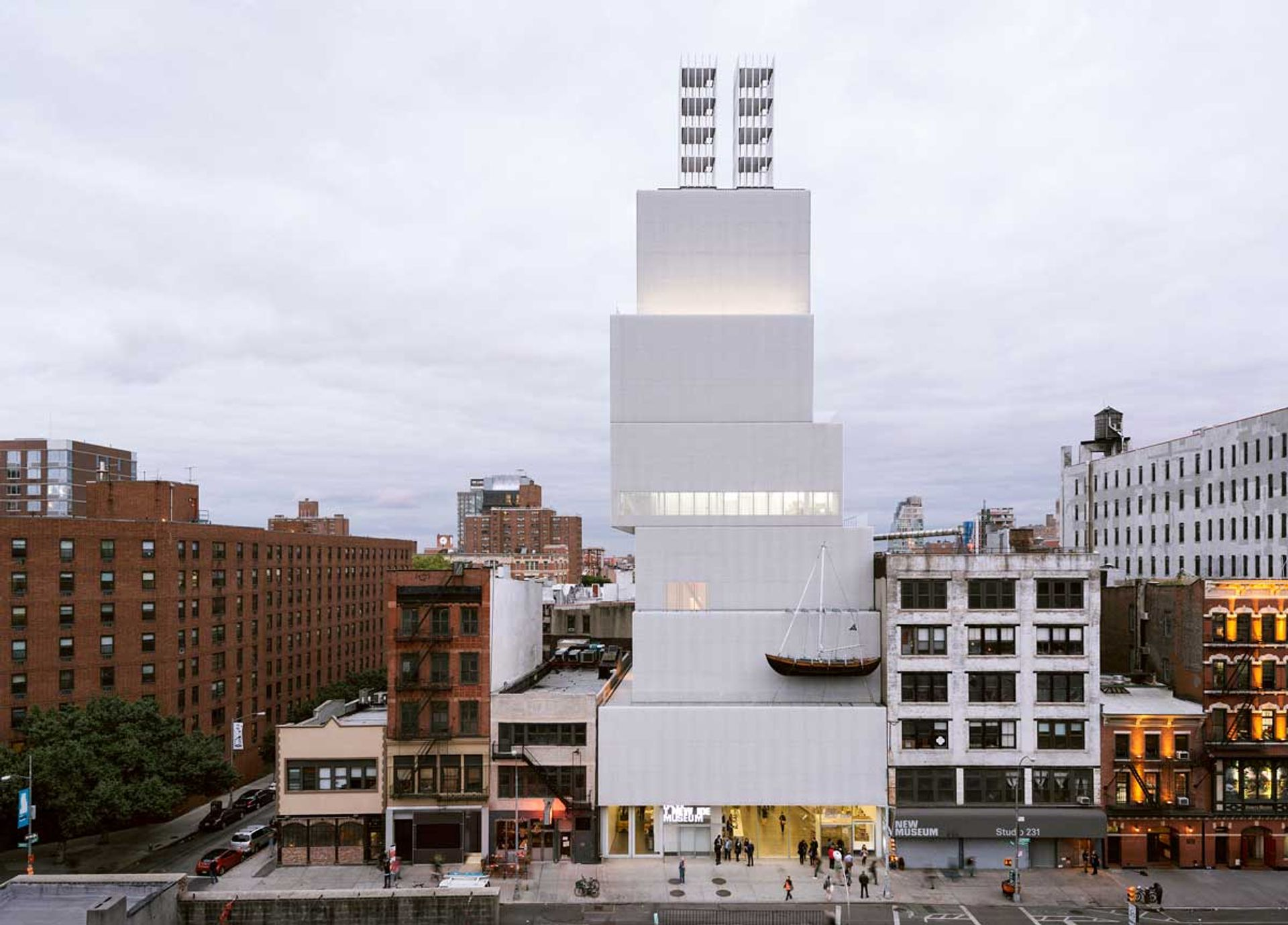 New Museum Courtesy New Museum, New York. Photo Dean Kaufman