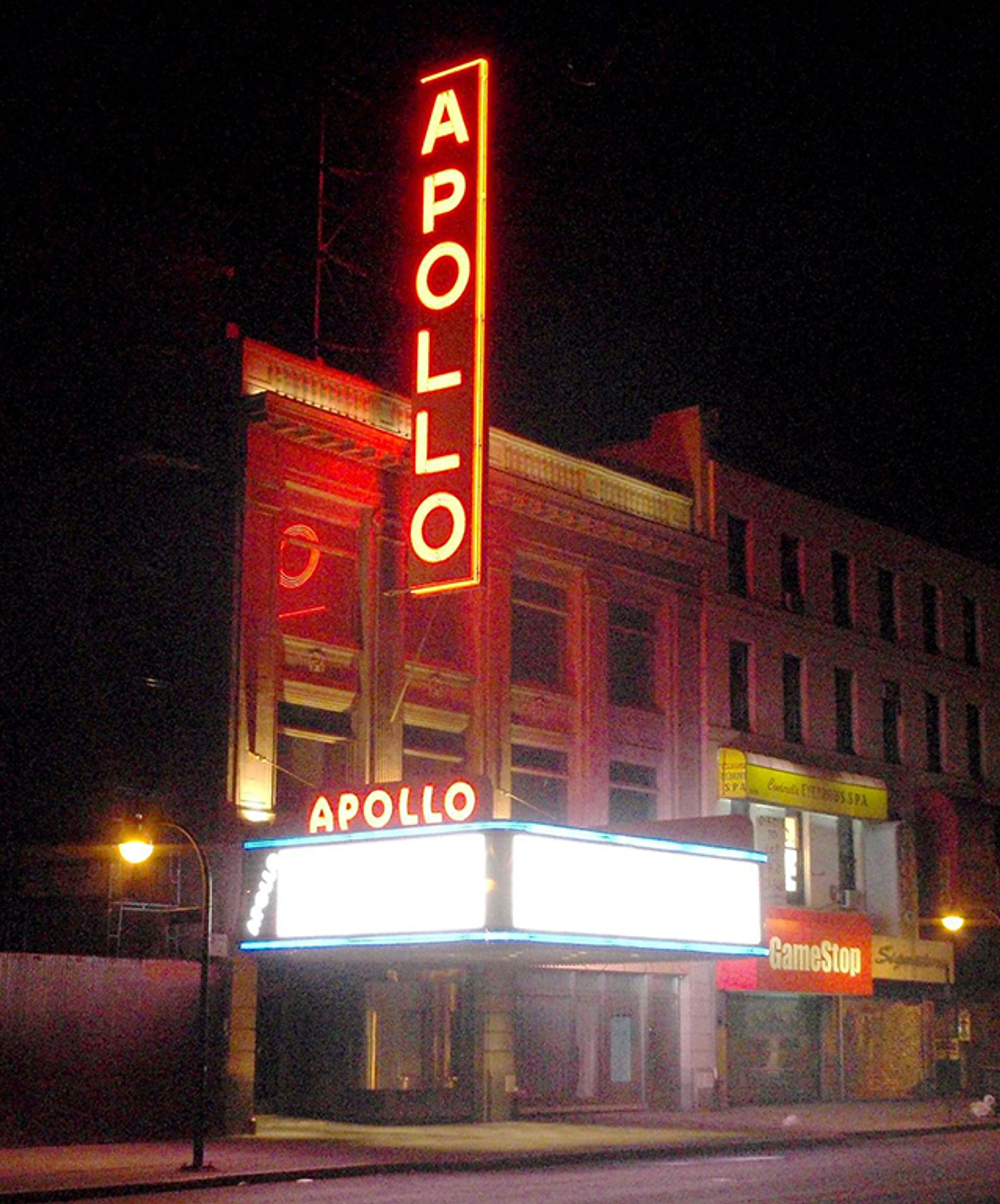 The Apollo Theater, one of the cultural organisations to benefit from a broad $156m cultural philanthropy initiative