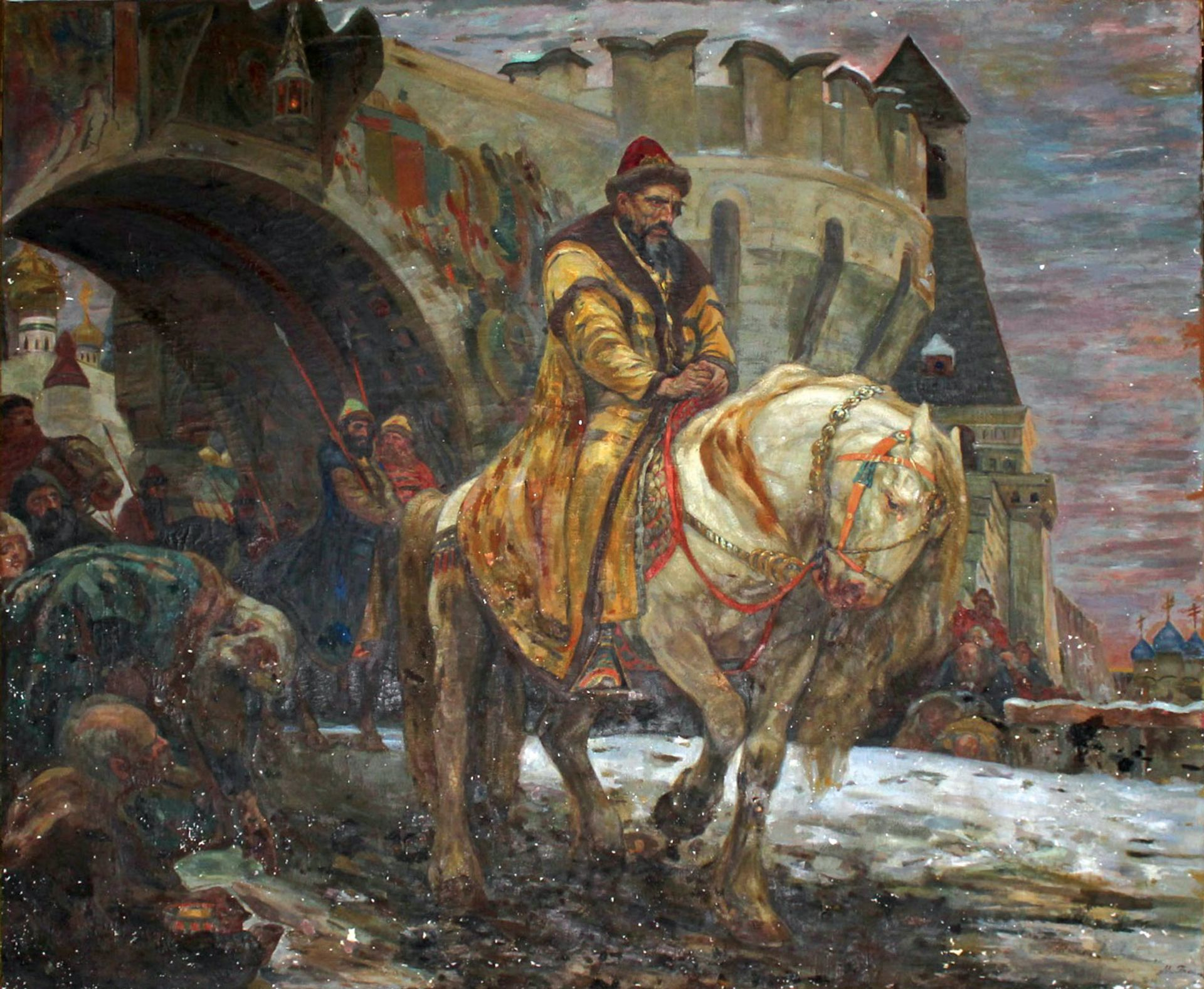 Panin's 1911 painting of Ivan the Terrible was stolen by the Nazis US Attorney's Office for the District of Columbia