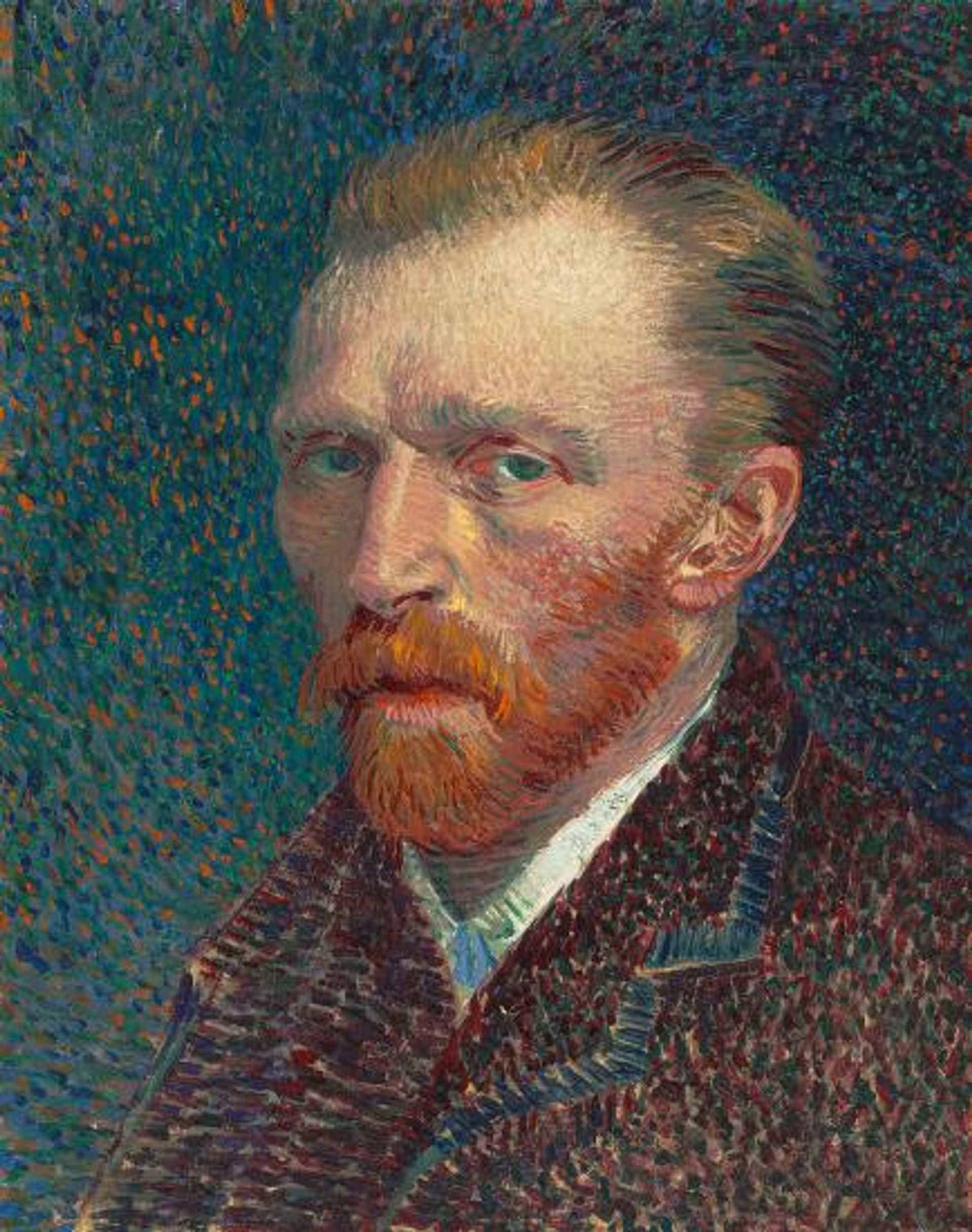 Vincent Van Gogh's Self-portrait (1887), bought by the Cologne collector Leonard Tietze in 1912 © The Art Institute of Chicago, Joseph Winterbotham Collection, 1954.326