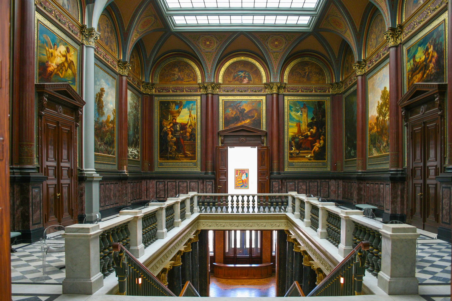 The Hamburg Kunsthalle has been forced to shut for a month, just one week after it reopened