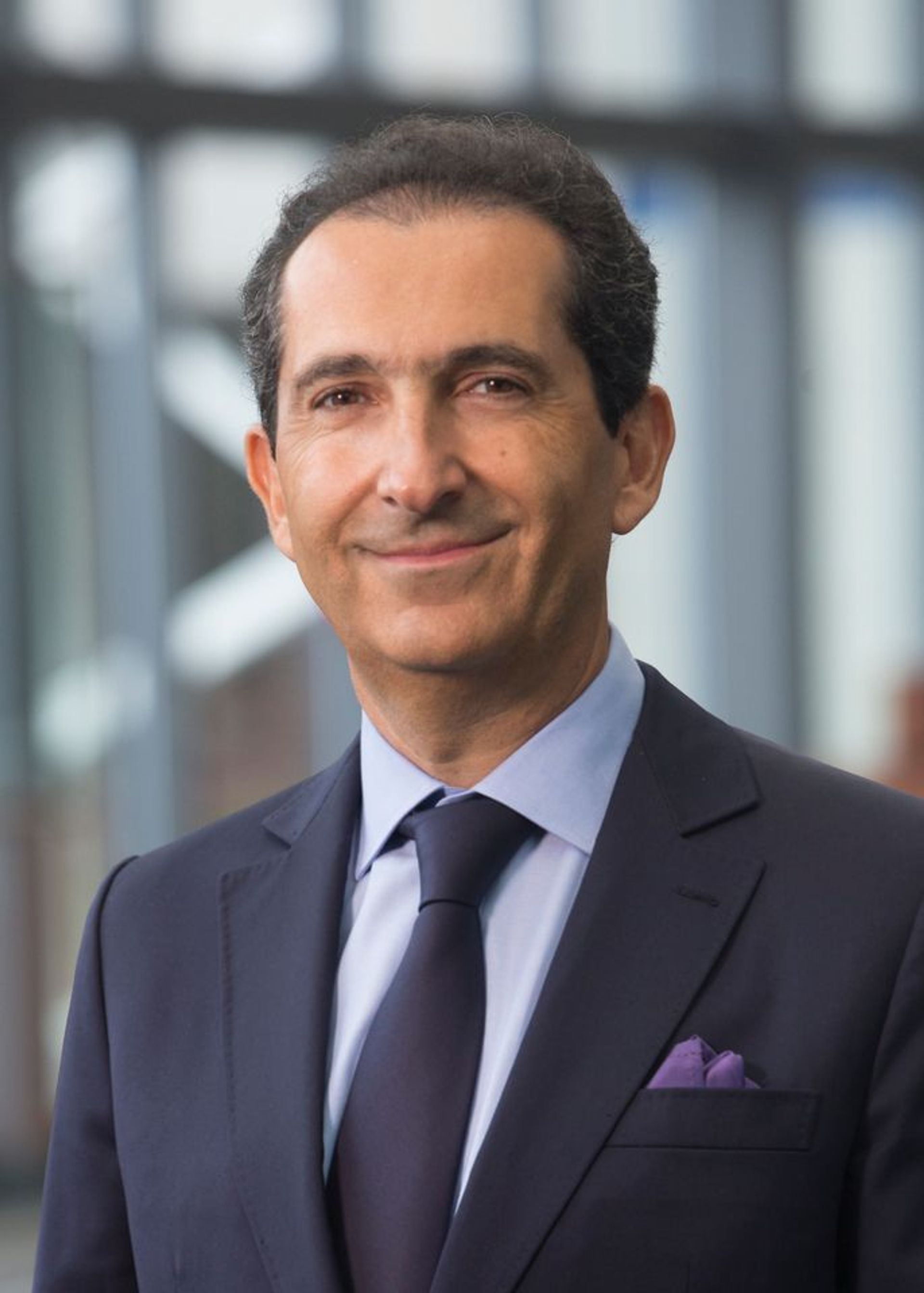 The French-Israeli media and telecom entrepreneur and art collector Patrick Drahi Courtesy of Patrick Drahi