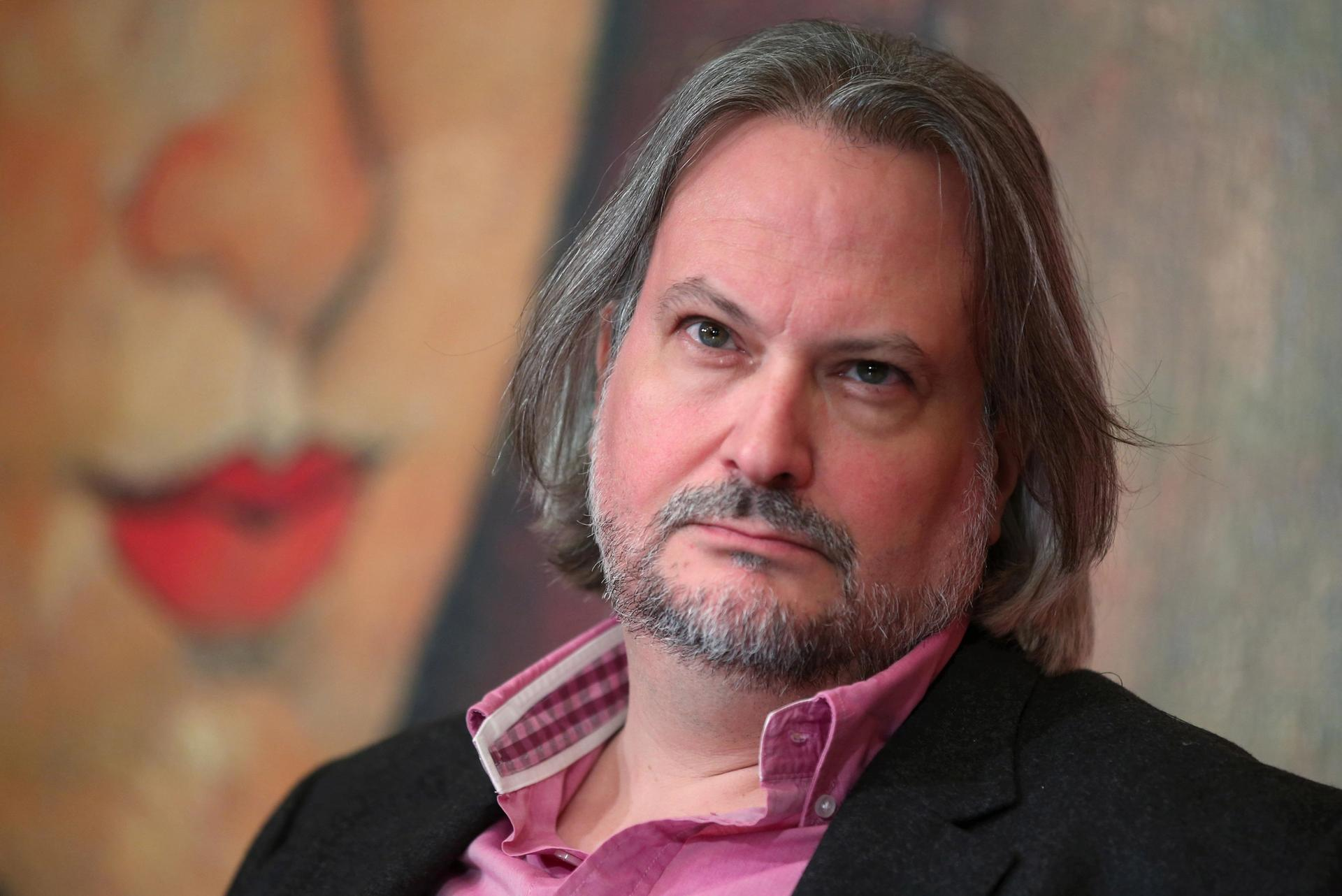 The French art historian Marc Restellini and the Wildenstein Plattner Institute are battling over copyright ownership of Modigliani research Photo: Peter Kovalev/TASS/Alamy Live News