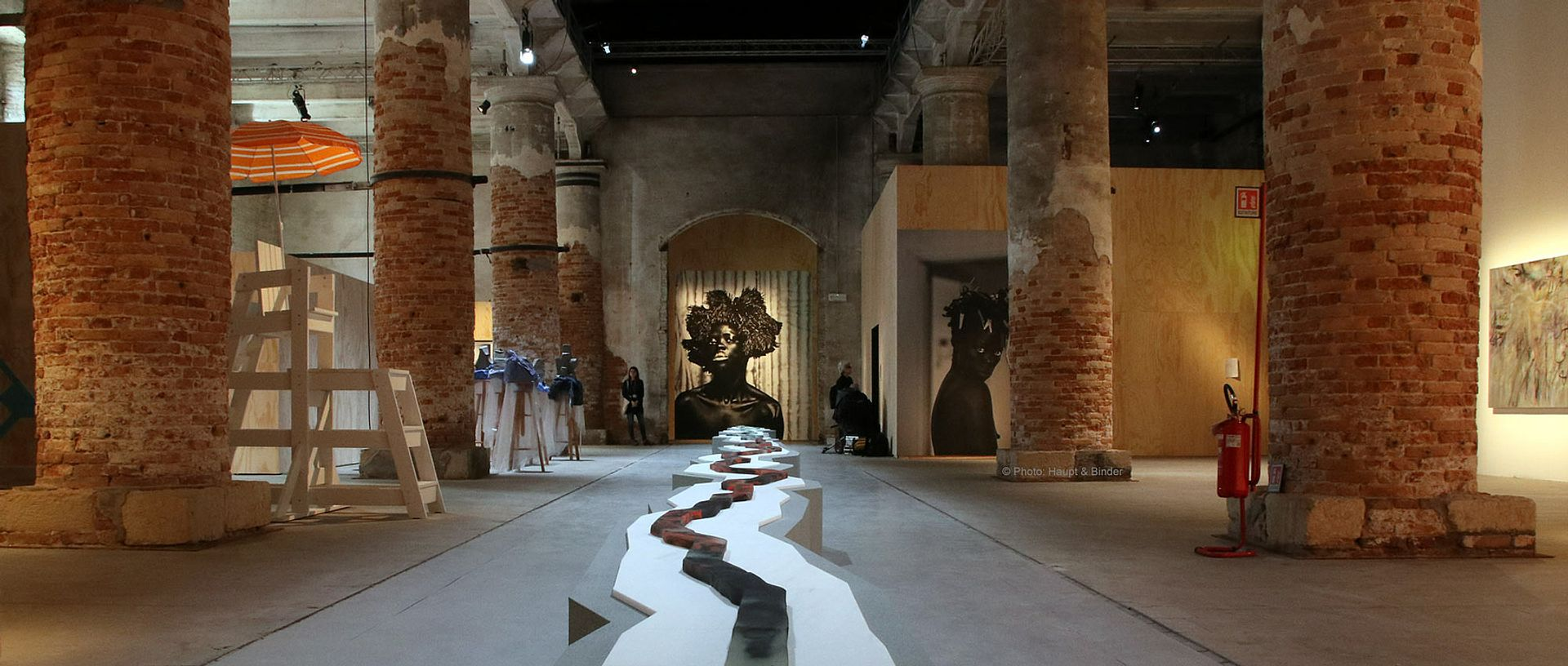 Ralph Rugoff central exhibition May You Live in Interesting Times in the Arsenale courtesy of the Venice Biennale