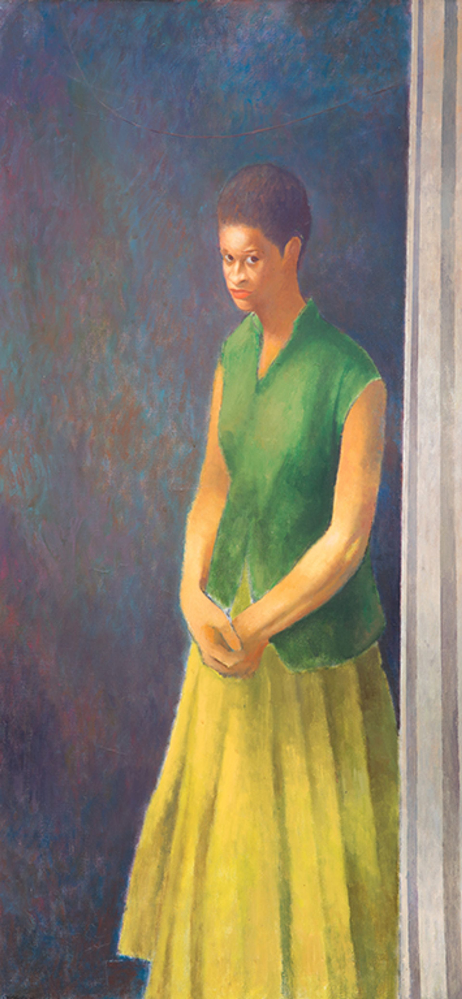 Charles White's Young Woman (Unfinished Painting No. 6) from 1965-66 ACA Galleries