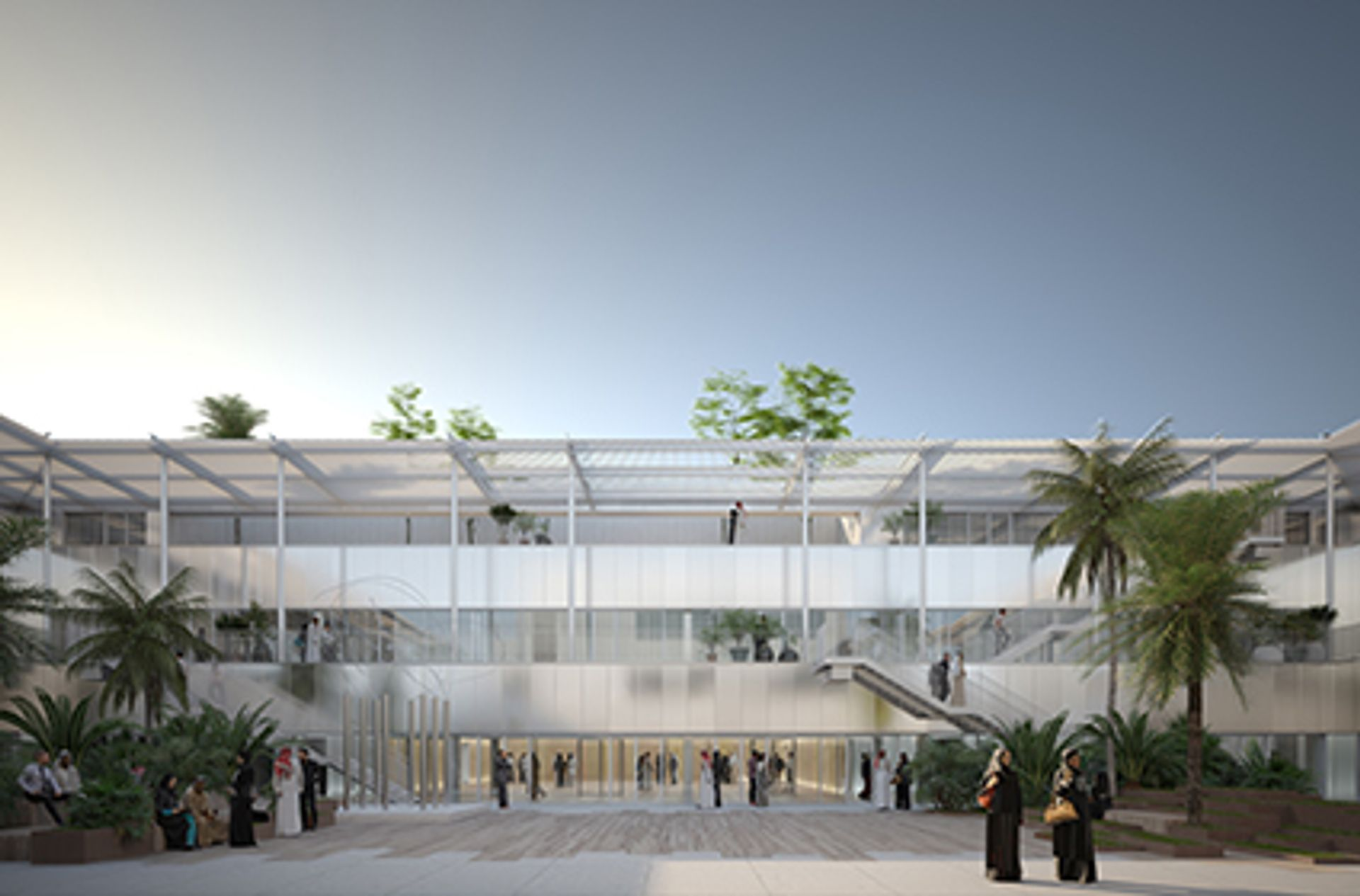 The Hayy, commissioned by Art Jameel and designed byibda design Art Jameel