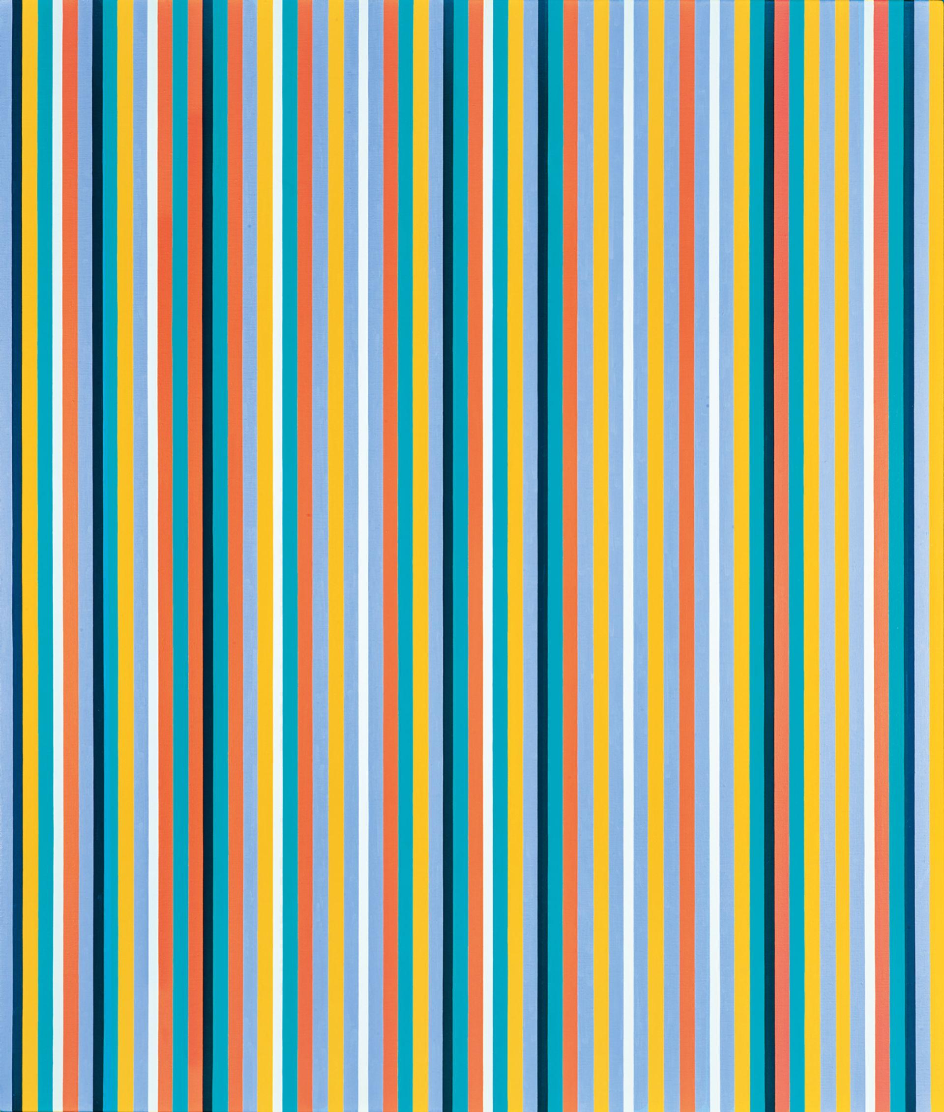 Bridget Riley, Cool Edge (1982) Image courtesy of Sotheby's