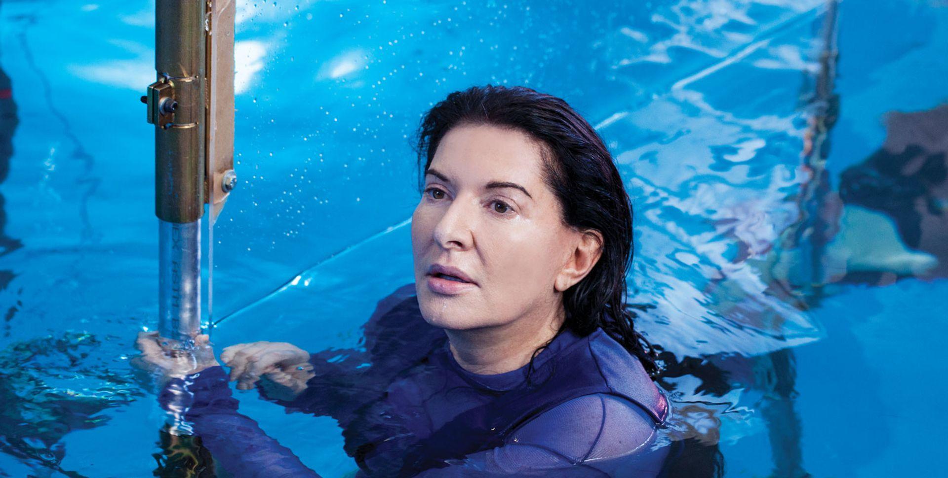 Abramović's underwater scanning for Rising recalls visceral fear Acute Art