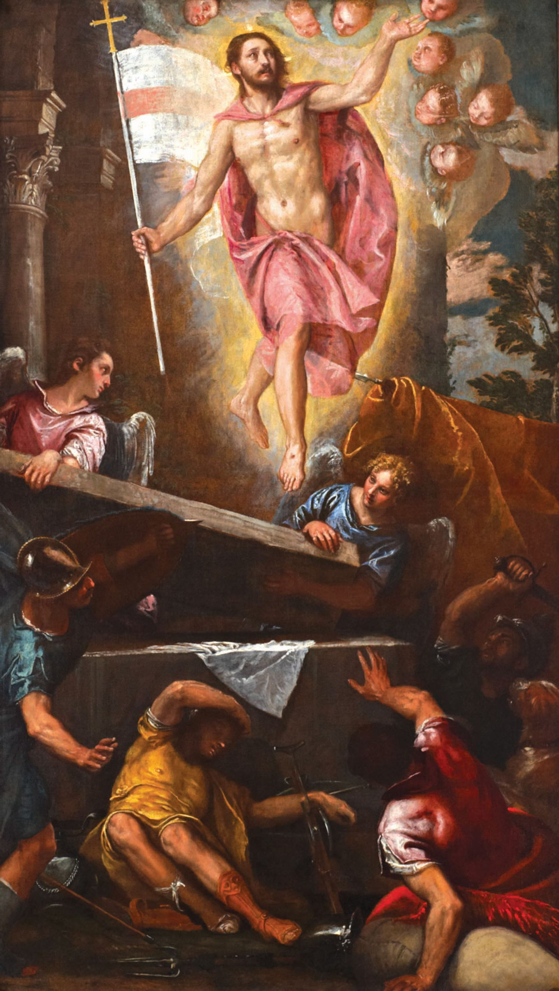 Miracle cure: Veronese's Resurrection © CW+