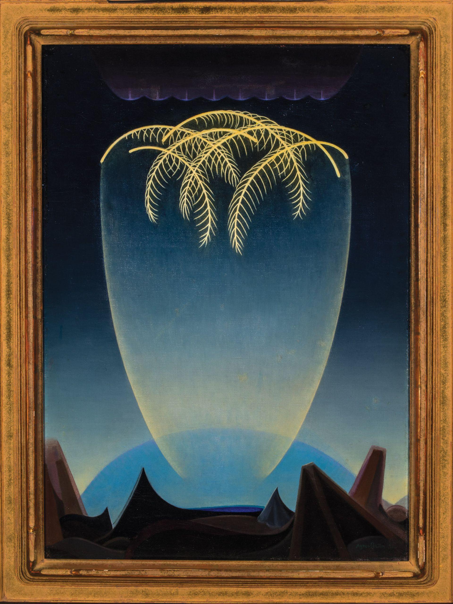 Agnes Pelton's Messengers (1932) © Phoenix Art Museum