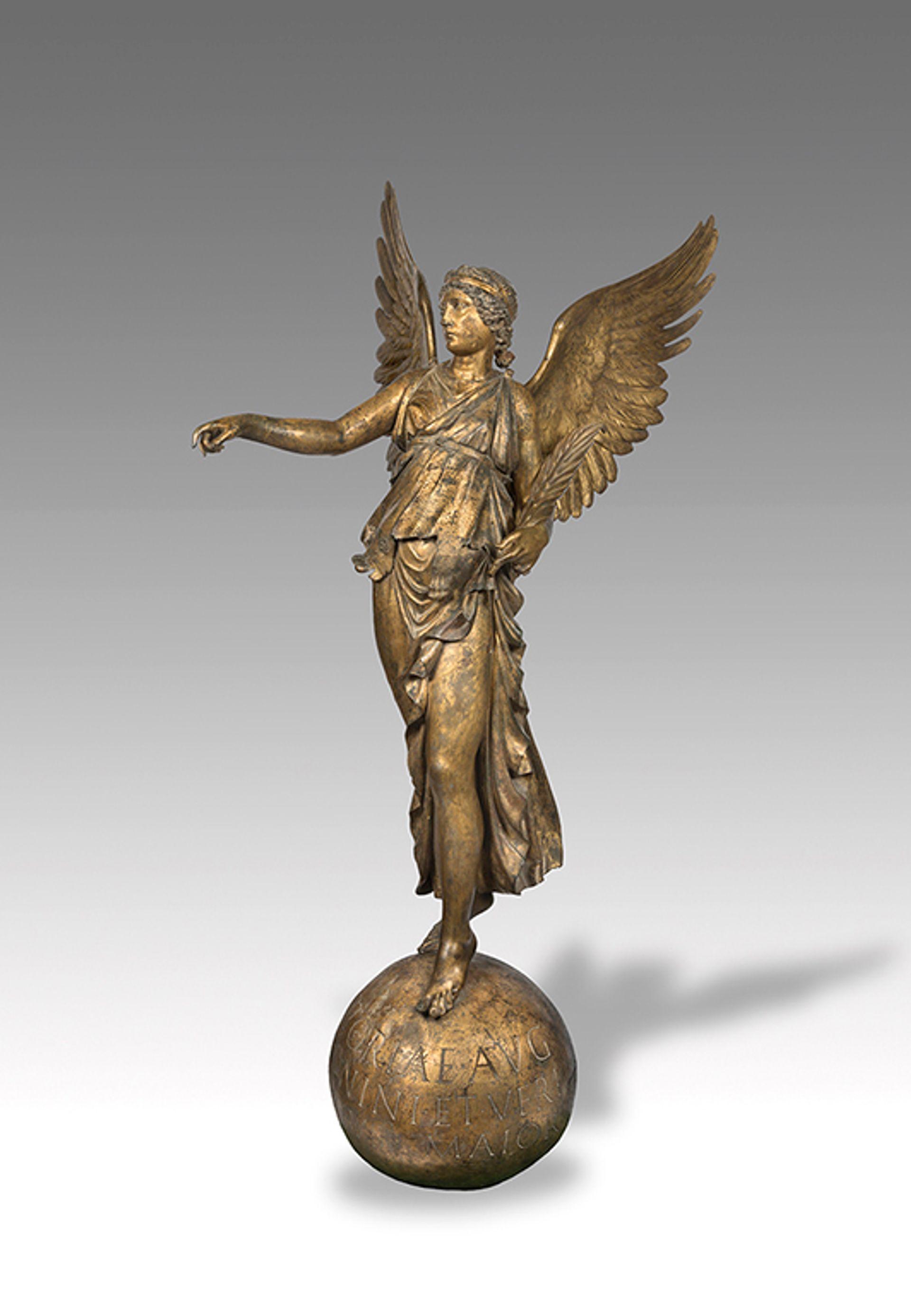 The Roman bronze known as Victoria of Calvatone State Hermitage Museum