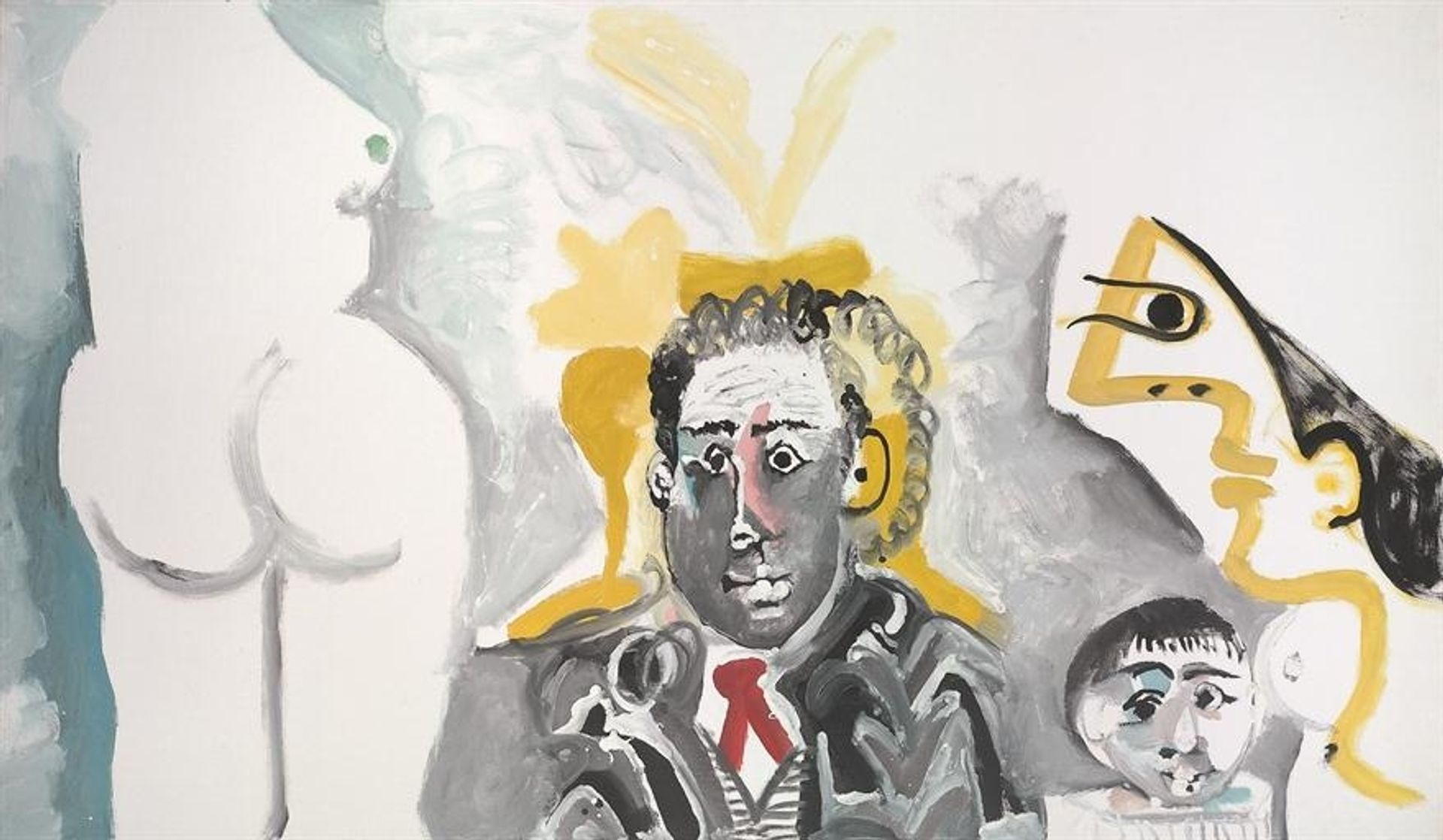 Pablo Picasso's Personnages (1965) Courtesy of Artnet Auctions