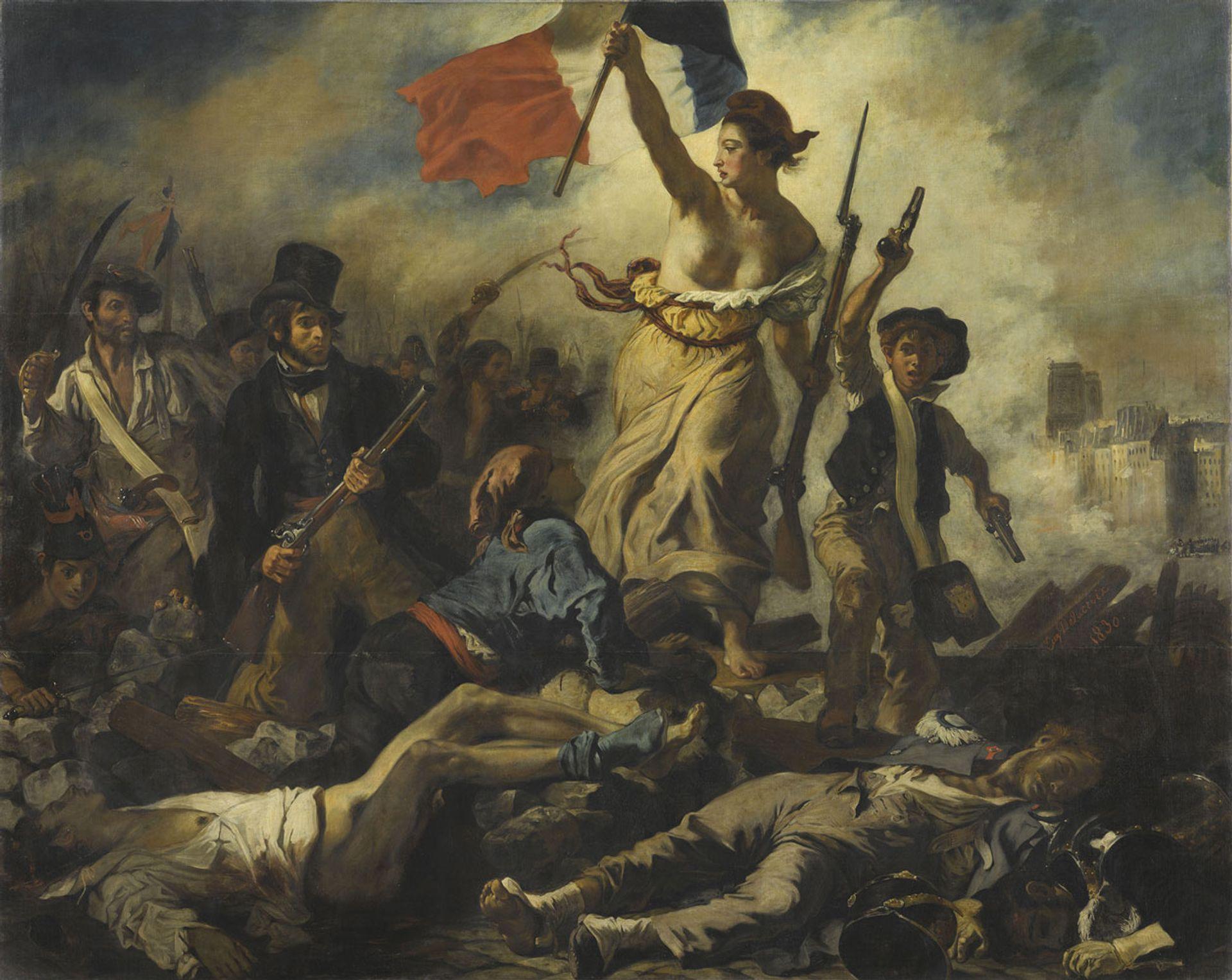 Eugène Delacroix's Liberty Leading the People (1830) Michel Urtado