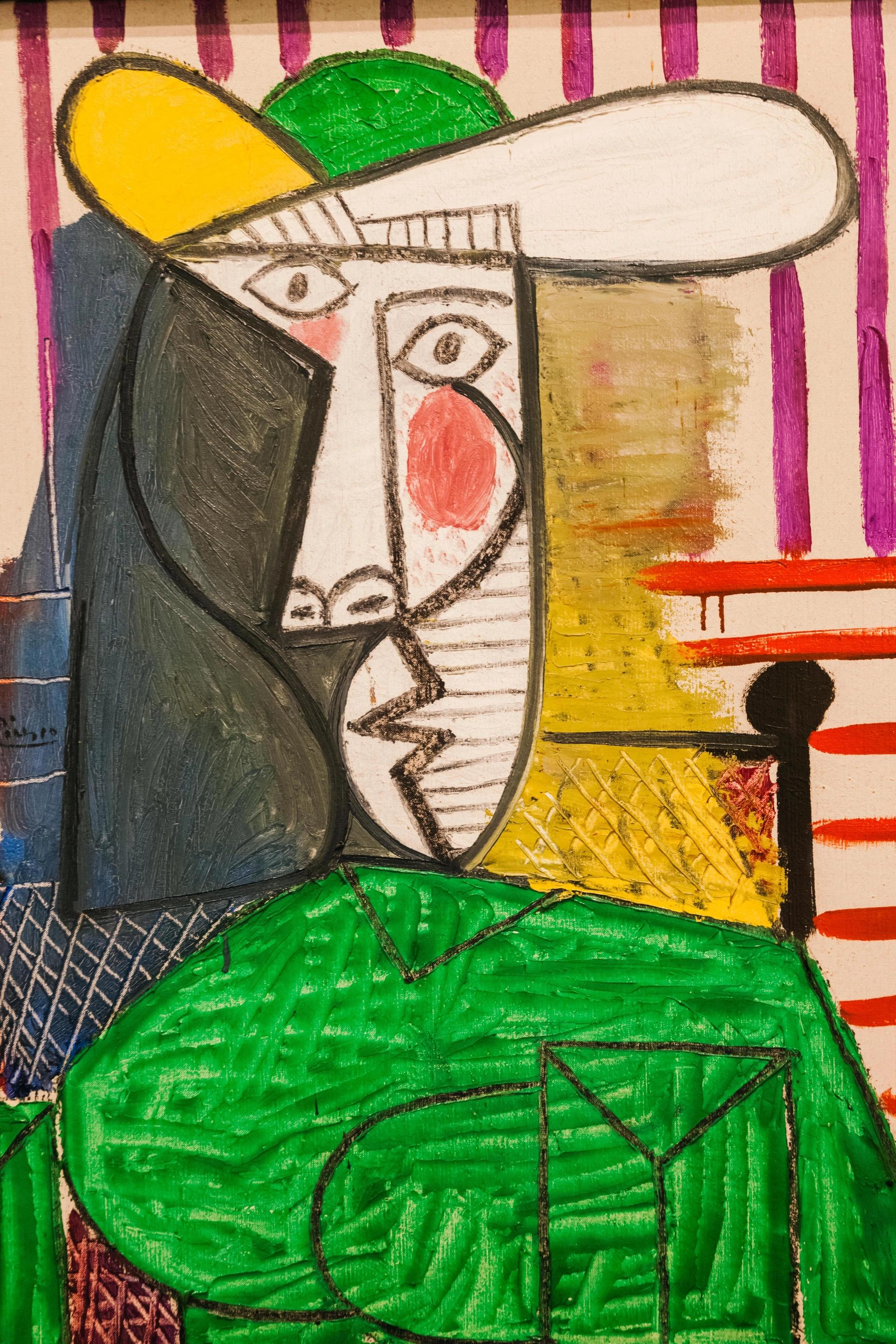 Bust of a Woman (1944), Pablo Picasso Steve Vidler/Alamy